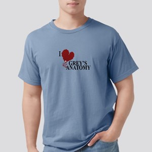 i love greys anatomy Mens Comfort Colors Shirt