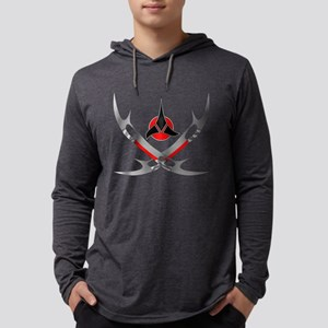 Klingon 4 Mens Hooded Shirt
