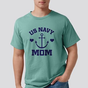 US Navy Mom gift Mens Comfort Colors Shirt