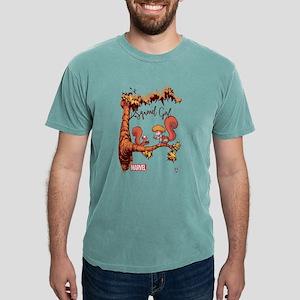 Squirrel Girl Branch Lig Mens Comfort Colors Shirt