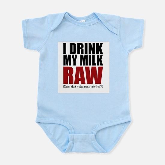 Raw baby Body Suit