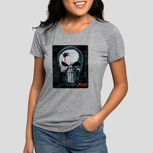 Punisher Skull X-Ray Womens Tri-blend T-Shirt