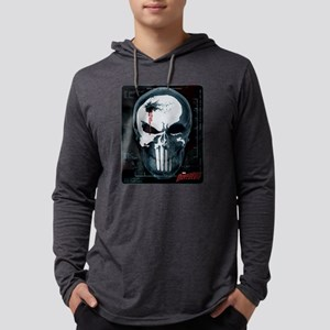 Punisher Skull X-Ray Mens Hooded Shirt