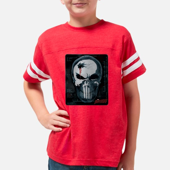 Punisher Skull X-Ray Youth Football Shirt