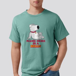 Family Guy Brian Persona Mens Comfort Colors Shirt