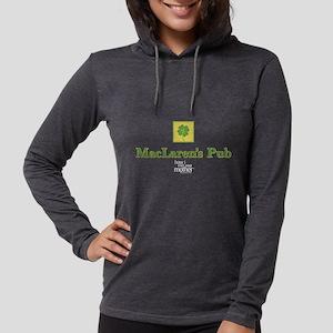 HIMYM MacLaren's Pub Clover Da Womens Hooded Shirt