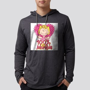 Sally 100% Adorable Mens Hooded Shirt