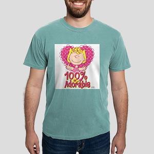 Sally 100% Adorable Mens Comfort Colors Shirt