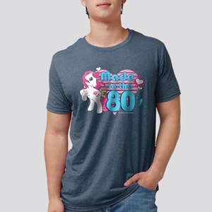 MLP Retro Made in the 80's  Mens Tri-blend T-Shirt