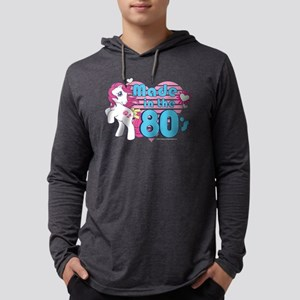 MLP Retro Made in the 80's Dark Mens Hooded Shirt