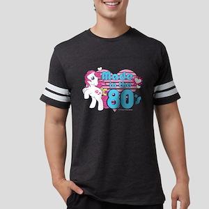 MLP Retro Made in the 80's Dar Mens Football Shirt