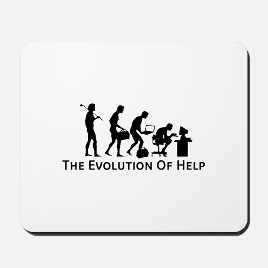 The Evolution of Help Mousepad