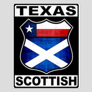 Texas Scottish American Poster Design