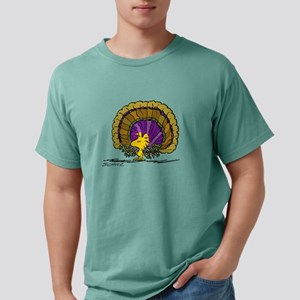 Peanuts - Woodurkey Mens Comfort Colors Shirt