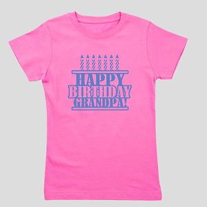 Happy Birthday Grandpa Girl's Tee
