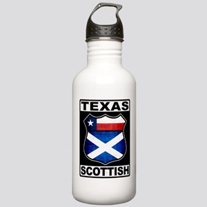 Texas Scottish American Sports Water Bottle