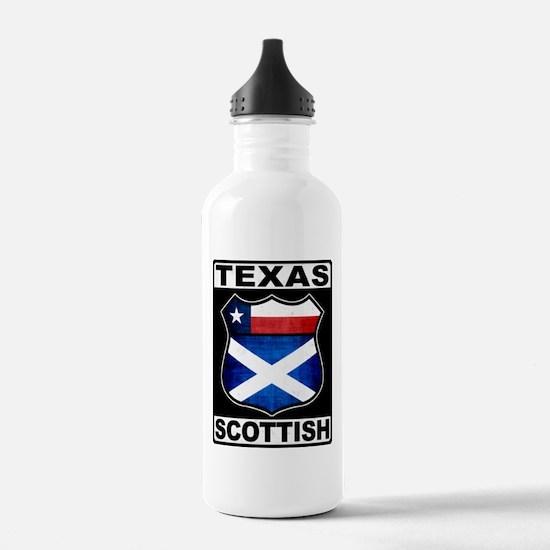 Texas Scottish American Sports Water Bottle