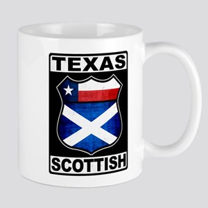 Texas Scottish American Small Mug