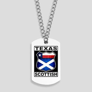 Texas Scottish American Dog Tags