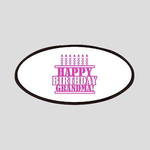 Happy Birthday Grandma Patches