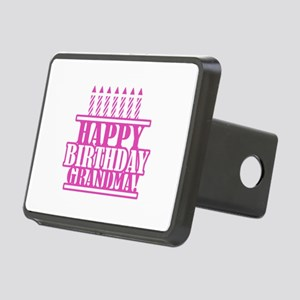 Happy Birthday Grandma Rectangular Hitch Cover