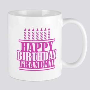 Happy Birthday Grandma Mug
