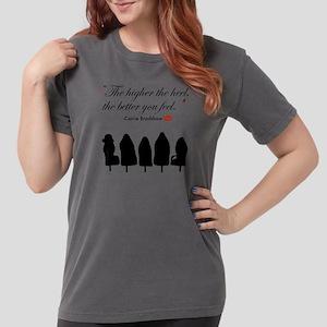 SATC: High Heels Womens Comfort Colors Shirt