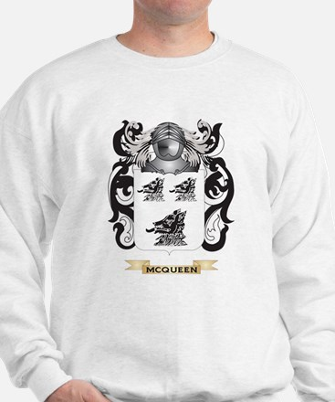 McQueen Coat of Arms - Family Crest Sweatshirt