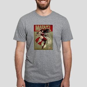 Elektra Marvel Vintage Mens Tri-blend T-Shirt