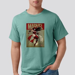Elektra Marvel Vintage Mens Comfort Colors Shirt