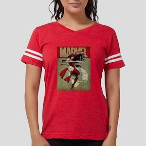 Elektra Marvel Vintage Womens Football Shirt