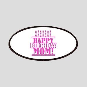 Happy Birthday Mom Patches