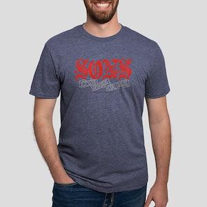 Sons Live Free or Die Light Mens Tri-blend T-Shirt