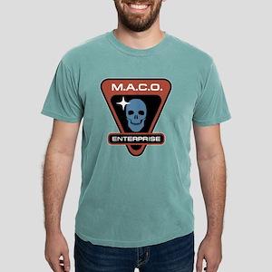 ENTERPRISE Skull Mens Comfort Colors Shirt