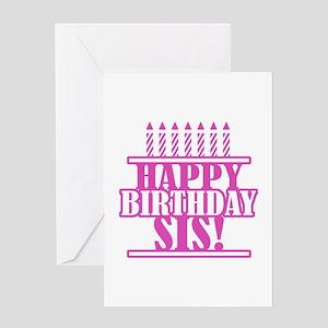 Happy birthday sister greeting cards cafepress happy birthday sister greeting card m4hsunfo