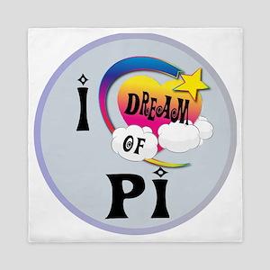 I Dream of Pi Queen Duvet