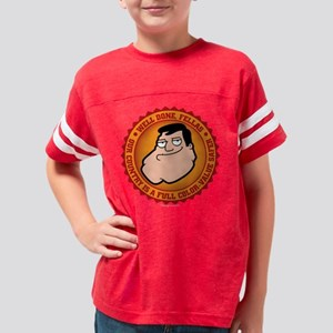 American Dad Well Done Dark Youth Football Shirt