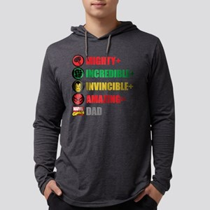 Marvel Fathers Day Personalized Mens Hooded Shirt
