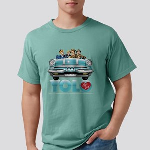 I Love Lucy: YOLO Dark Mens Comfort Colors Shirt