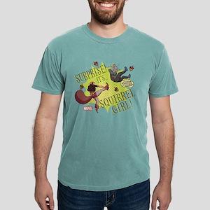 Squirrel Girl Fighting C Mens Comfort Colors Shirt