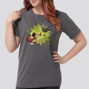 Squirrel Girl Fighting Womens Comfort Colors Shirt