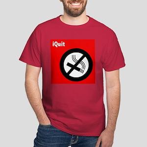 iQuit Smoking Dark T-Shirt