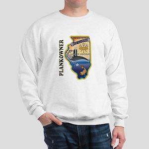 USS Illinois Plankowner Sweatshirt