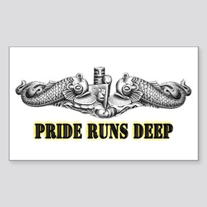 Pride Runs Deep! SSN-786 Sticker (Rectangle)
