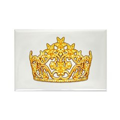 Queen Crown Rectangle Magnet (100 pack)