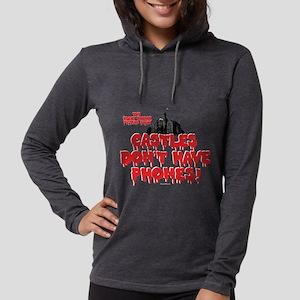 Rocky Horror Castles Dark Womens Hooded Shirt