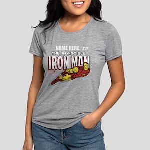 292313_Personalized Invin Womens Tri-blend T-Shirt
