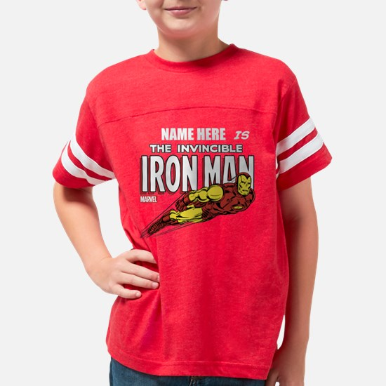 292313_Personalized Invincibl Youth Football Shirt