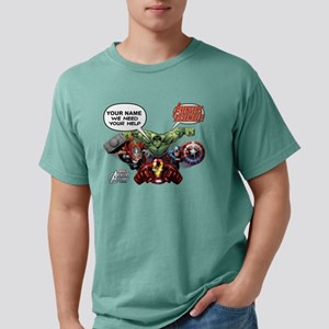 Avengers We Need Your He Mens Comfort Colors Shirt