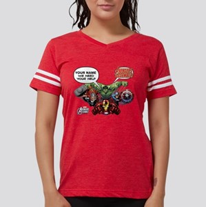 Avengers We Need Your Help Womens Football Shirt